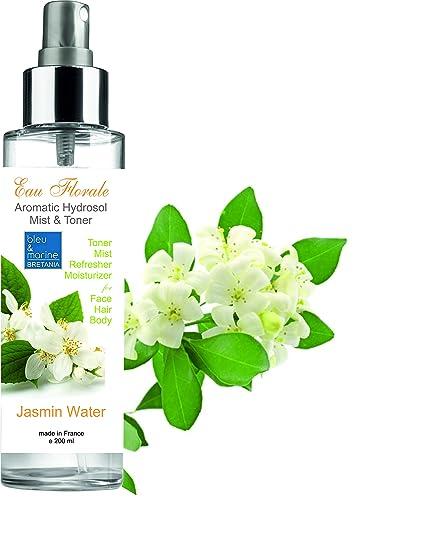 Hidrolato de Jazmín 200 ml spray ● Agua Floral ● Tónico y Limpiador Facial 100% Natural