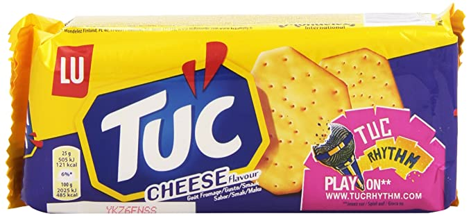 Tuc - Crackers Sabor Queso