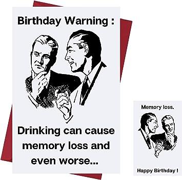 Amazon Com Funny Happy Birthday Card For Men Women Birthday Card For Drinkers Prank Birthday Card Funny Birthday Card For Friends Family Coworkers Etc Alcohol Birthday Card