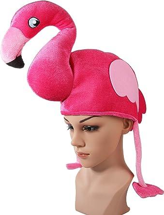 Sombrero flamenco rosa adulto disfraz Halloween fiesta cosplay ...