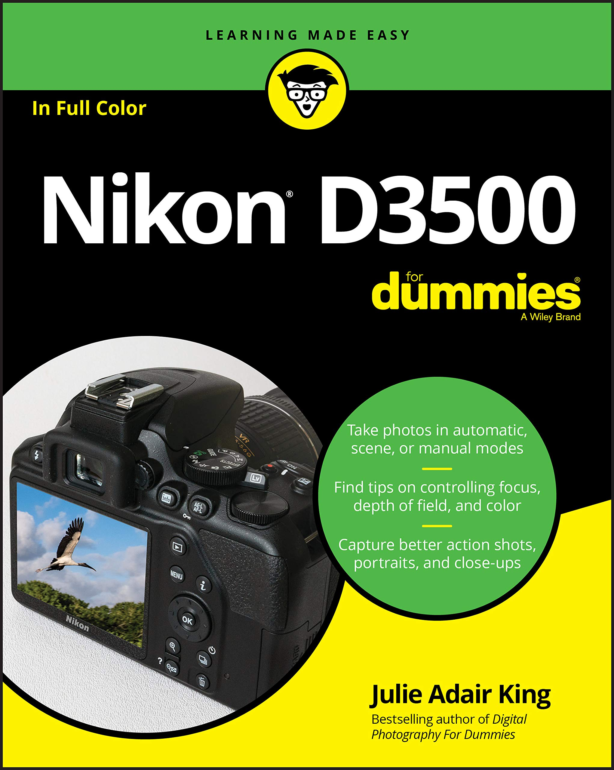 King, J: Nikon D3500 For Dummies: Amazon.es: King, Julie Adair ...