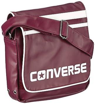de4c3ef3bd0 Converse Messenger Bag Umhängetasche Small Flap Bag Sport, red – burgundy,  410498-595