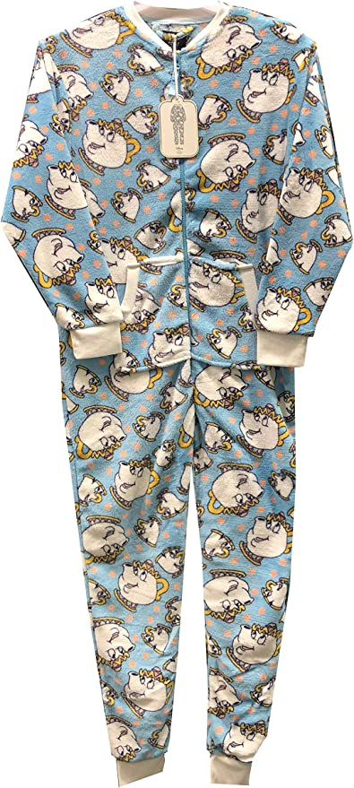 Pijama para Mujer Disney Chip Beauty and The Beast All In One ...