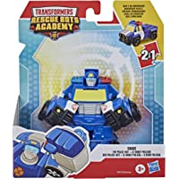 """Transformers - Playskool Heroes - Rescue Bots Academy - 4.5"""" Chase The Police-Bot - Converting Action and Toy Figures…"""