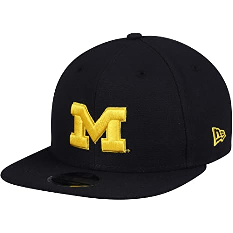 Amazon.com   Michigan Wolverines New Era Basic 9FIFTY Adjustable Hat Navy    Sports   Outdoors 96d94ff89ea