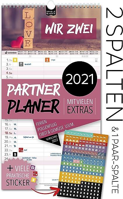 Calendrier Pollen 2021 Agenda familial 2020   5 colonnes   Calendrier mural : 23 x 43 cm