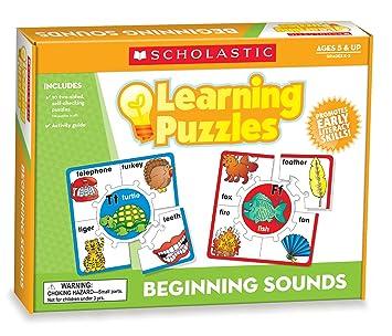 Amazon.com: Scholastic Teacher's Friend Beginning Sounds Learning ...