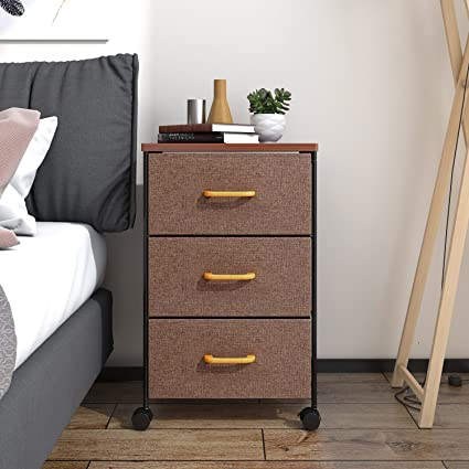 Lifewit Frabric 3 Drawer Dresser And Storage Organizer Unit For Bedroom,  Small Living Spaces