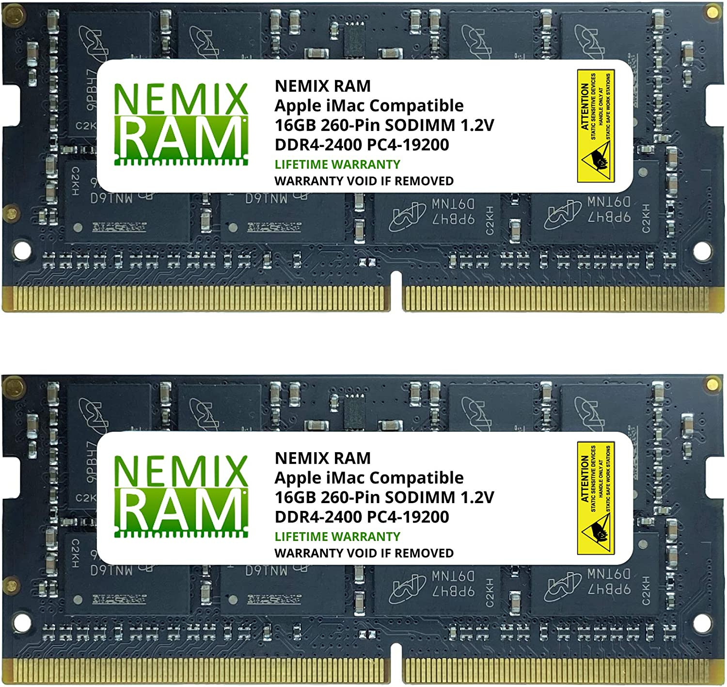 "32GB 2X16GB NEMIX RAM Memory for Apple iMac 2017 21.5"" Retina 4K & Non-Retina"