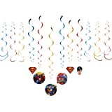 American Greetings Superman Hanging Party Decorations