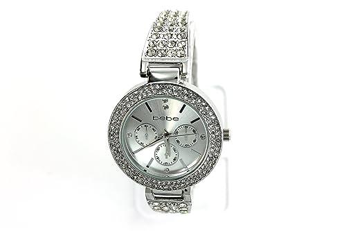 Amazon.com: Bebe Mujer Reloj acero inoxidable plata estilo ...