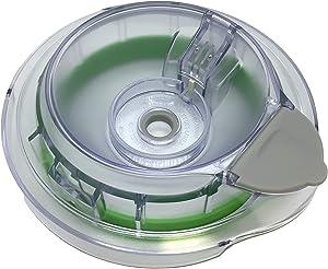 Ninja Splash Guard Lid for 40oz 48oz Pitcher Bowl QB750 QB900B QB1000 QB1002, Green Clear