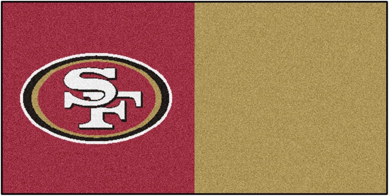 Fanmats San Francisco 49ers Team Carpet Tiles