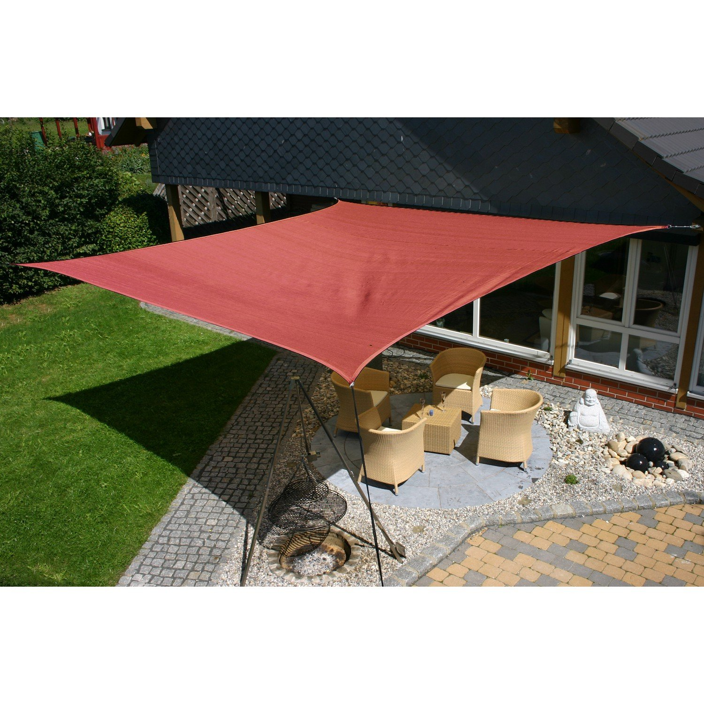 EDUPLAY 160130 Sonnenschutz Sonnensegel, 6x4m, Rechteck, wasserabweisend, cremeweiß cremeweiß cremeweiß (1 Stück) 7ab1c6