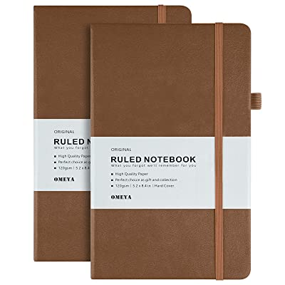 Blue 5-pack with Magnetic Buckle A5 Size Notebook Hardcover Notebook