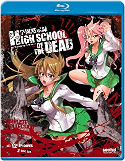 High School Of The Dead Complete Collection Blu Ray