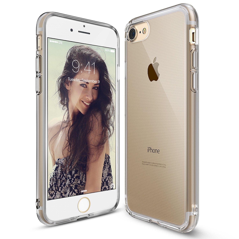 Iphone 7 Plus Ringke Fusion Mirror Frame Air Slim Rearth Royal Gold Rose