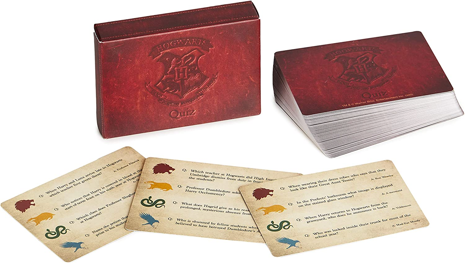 Paladone Hogwarts Trivia, 200 Harry Potter Questions, Officially Licensed