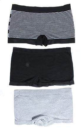Marilyn Monroe Intimates Women s Boyshorts Panties (3 Pair) Classic Stripes  (Small 2c856d3ca65
