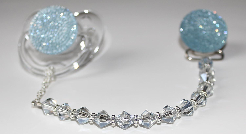 Amazon.com: Crystal Dream Luxury Blue Crystal de perlas de ...