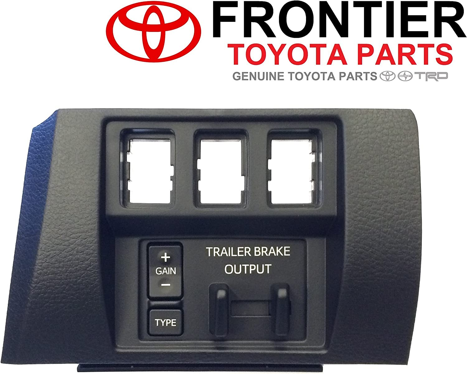 amazon.com: genuine toyota trailer brake controller 89547-0c011 with dash  bezel 55447-0c020-c0. 2016-2017 5.7l tundra only.: automotive  amazon.com