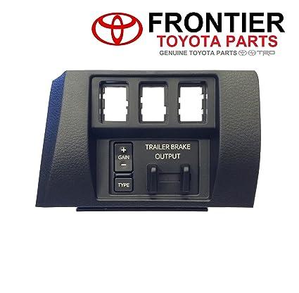 amazon com: genuine toyota trailer brake controller 89547-0c011 with dash  bezel 55447-0c020-c0  2016-2017 5 7l tundra only : automotive