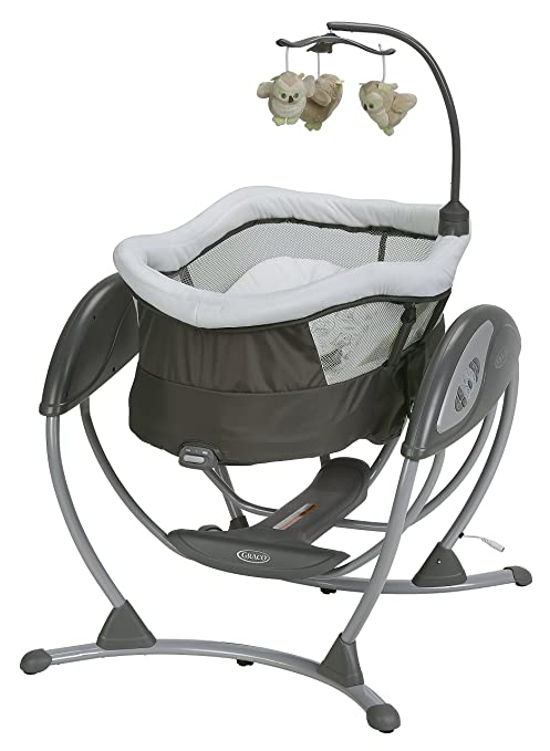 Graco DreamGlider Gliding Swing and Sleeper, Percy