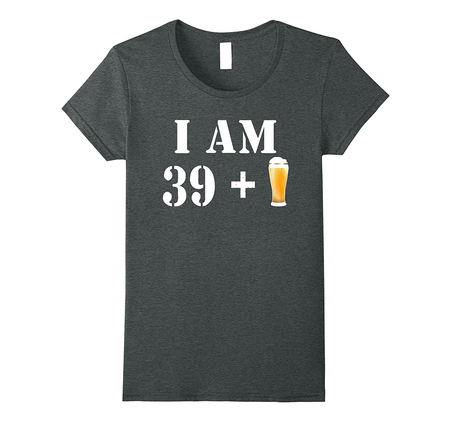 40th Birthday T-Shirt Funny Vintage Gift Idea For Beer Lover