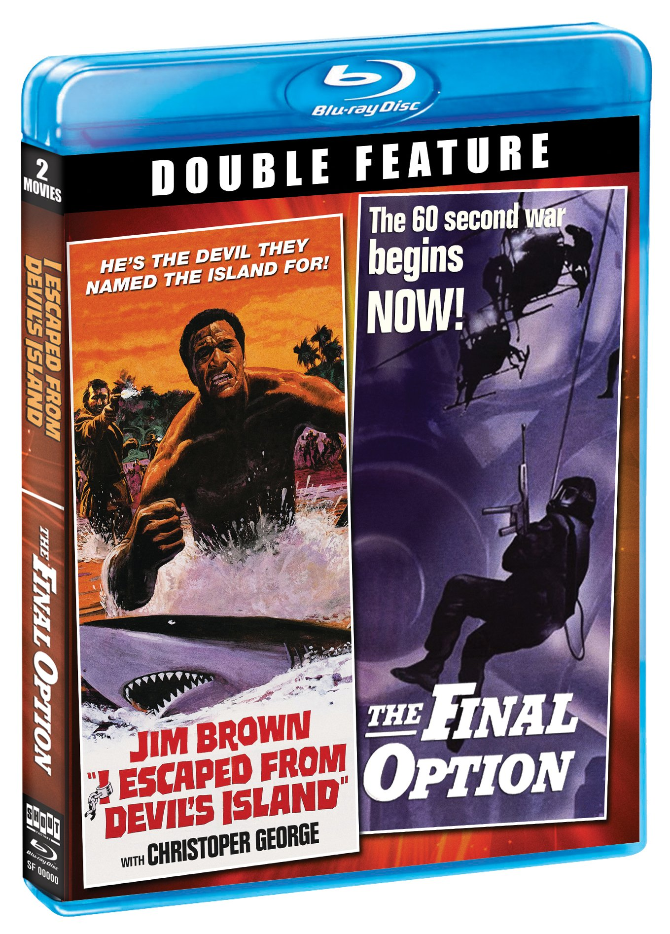 Blu-ray : I Escaped From Devil's Island / Final Option (Widescreen)