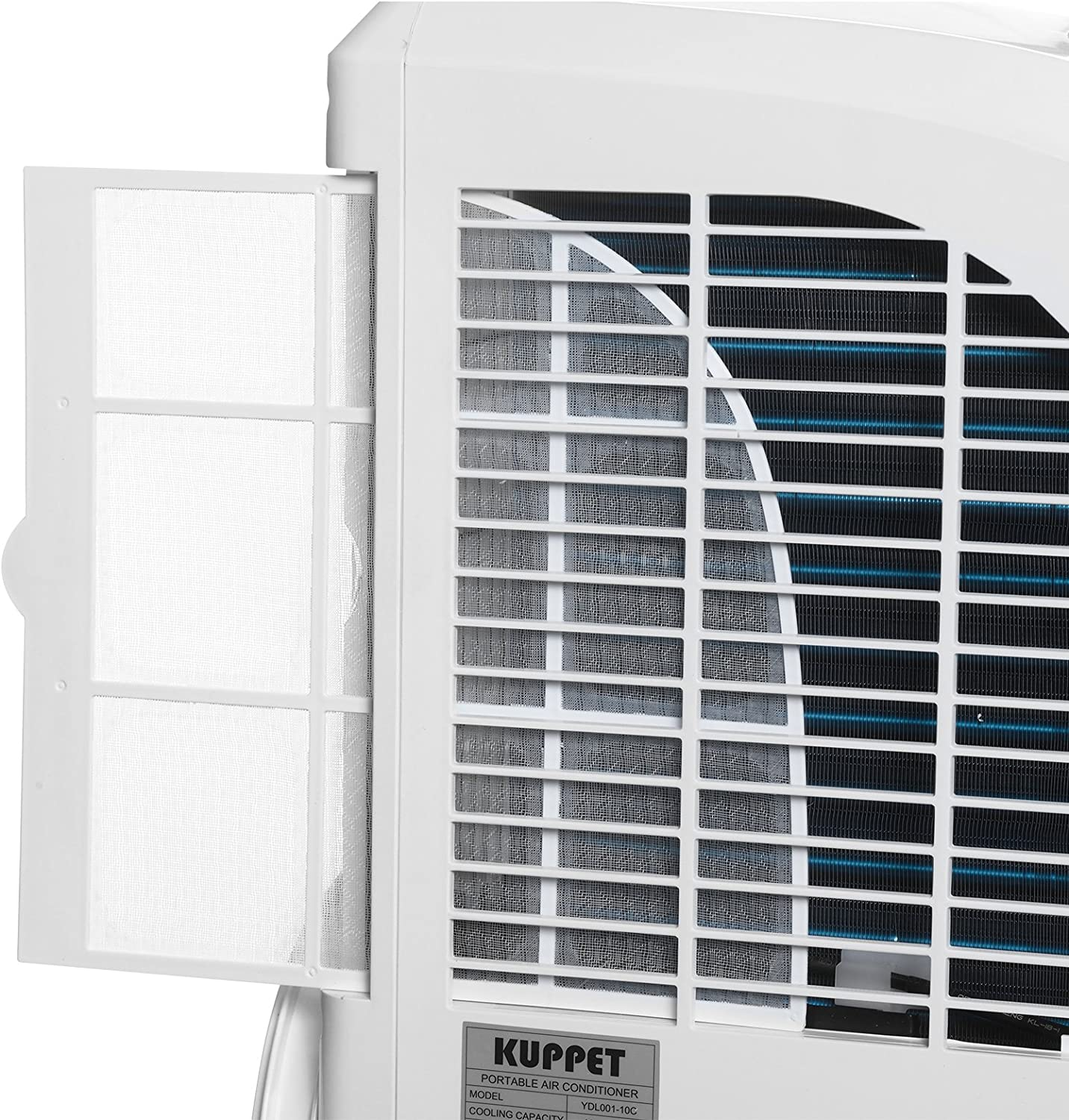 w//LED Display KUPPET 3-IN-1 Portable Air Conditioners With Cooling Fan Dehumidifier for Rooms up to 350 Sq.Ft Remote Control /& 4 Caster Wheels Super Quite Cooling-12000 BTU