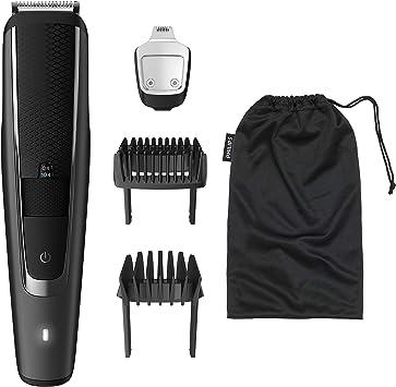 Philips BEARDTRIMMER Series 5000 BT5509/16 cortadora de pelo y maquinilla - Afeitadora (1 h, 0,4 mm): Amazon.es: Salud y cuidado personal