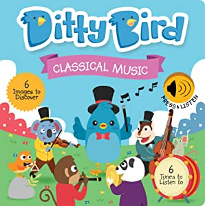 Our Best Interactive Classical Music Book for Babies with Melodies Mozart Beethoven. Educational Musical Toys Ages 1-3. Baby Books for one Year Old. Toddler Toys. 1 Year Old boy Girl Gifts.