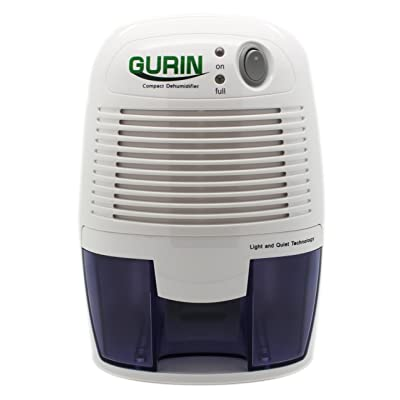 .com - Gurin Thermo Electric Mini Dehumidifier, 1100 Cubic Feet, Peltier Technology Dehumidifier Compact and Portable for High Humidity in Home, Kitchen, Bedroom, Basement, Caravan, Office, Garage - [5Bkhe1412195]