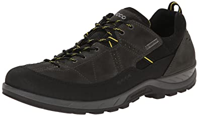 ECCO Mens Yura GTX Fashion Sneaker       Black Dark Shadow       43 EU 9