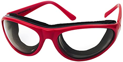 40af1a97b7d Amazon.com  RSVP Onion Goggles - Red (Red