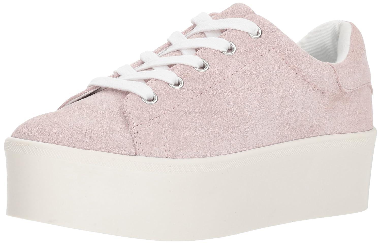 Steve Madden Women's Palmer Sneaker B07B9HZ62P 5.5 B(M) US|Pink Suede