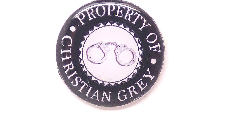 saint-valentin un magnet badge aimant/é 50 nuance de grey 56mm id/ée cadeau anniversaire no/ël
