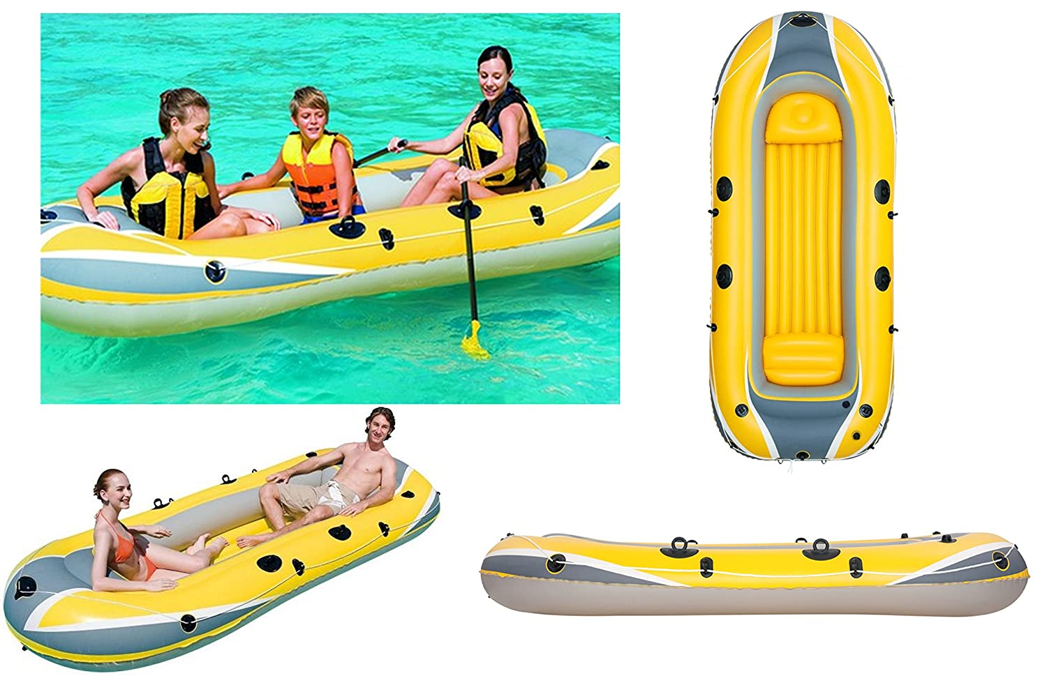 IZZY SPORT 3 personas Bote inflable Hydro Force Raft 3000 TÜV/GS ...