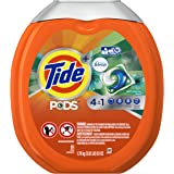 Tide PODS 4 in 1 HE Turbo Laundry Detergent Pacs, Botanical Rain Scent, 61 Count Tub