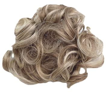 Amazon hair extensions curly or messy drawstring updo full hair extensions curly or messy drawstring updo full bun add body in ash blond synthetic pmusecretfo Images