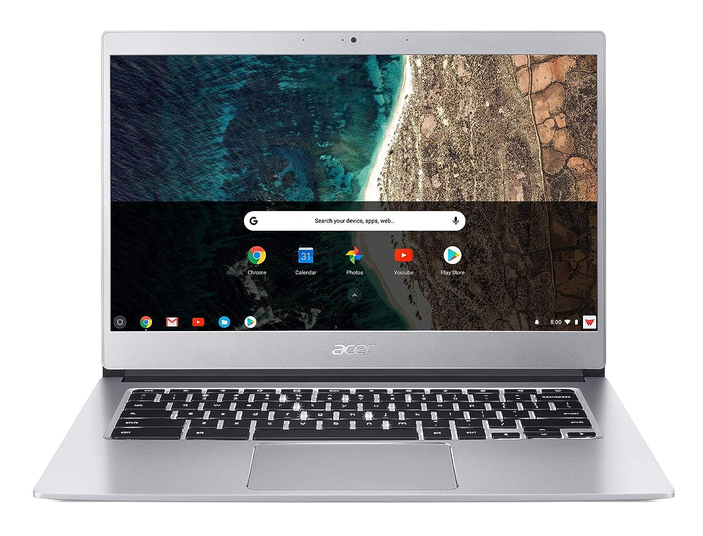 Acer Chromebook CB514-1HT-P4PV Argent 35,6 cm (14') 1920 x 1080 pixels Écran tactile Intel® Pentium® N4200 8 Go LPDDR4-SDRAM 64 Go eMMC