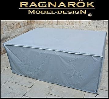 Ragnarök Möbeldesign Schutzabdeckung Gartenmöbel Schutzhülle Für Modell  HEIMDALL 8+4 Husse Schwere LKW Plane