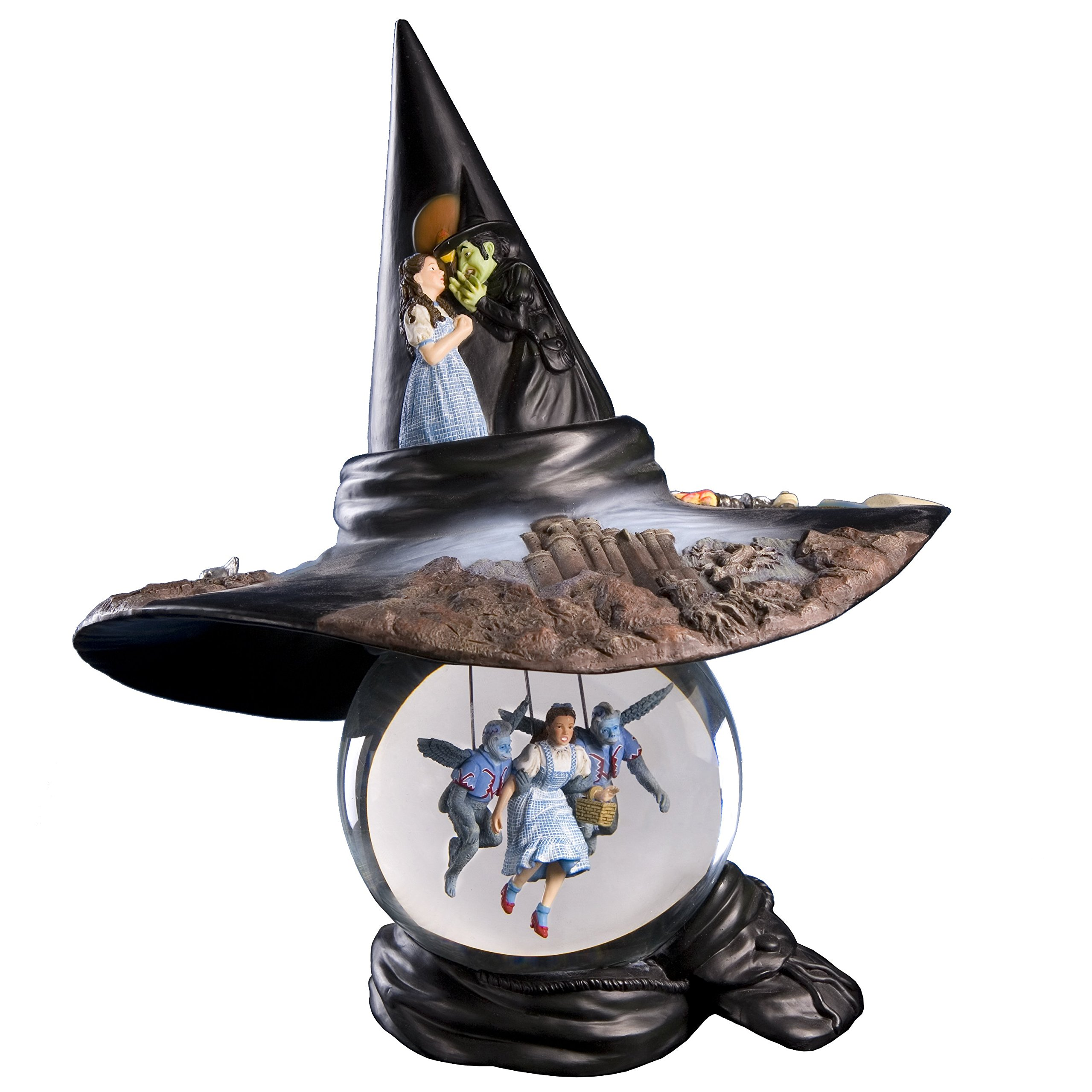 The Wizard of Oz ''Witch Hat'' Water Globe The San Francisco Music Box by The San Francisco Music Box Company