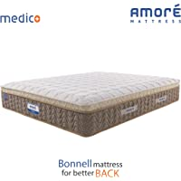 Amore International Medico Eurotop 6 inch Bonnell Spring Mattress(72x30x6)
