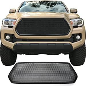 Custom Car Grills CCG Grille for 2016 2017 Toyota Tacoma with Black Bezel