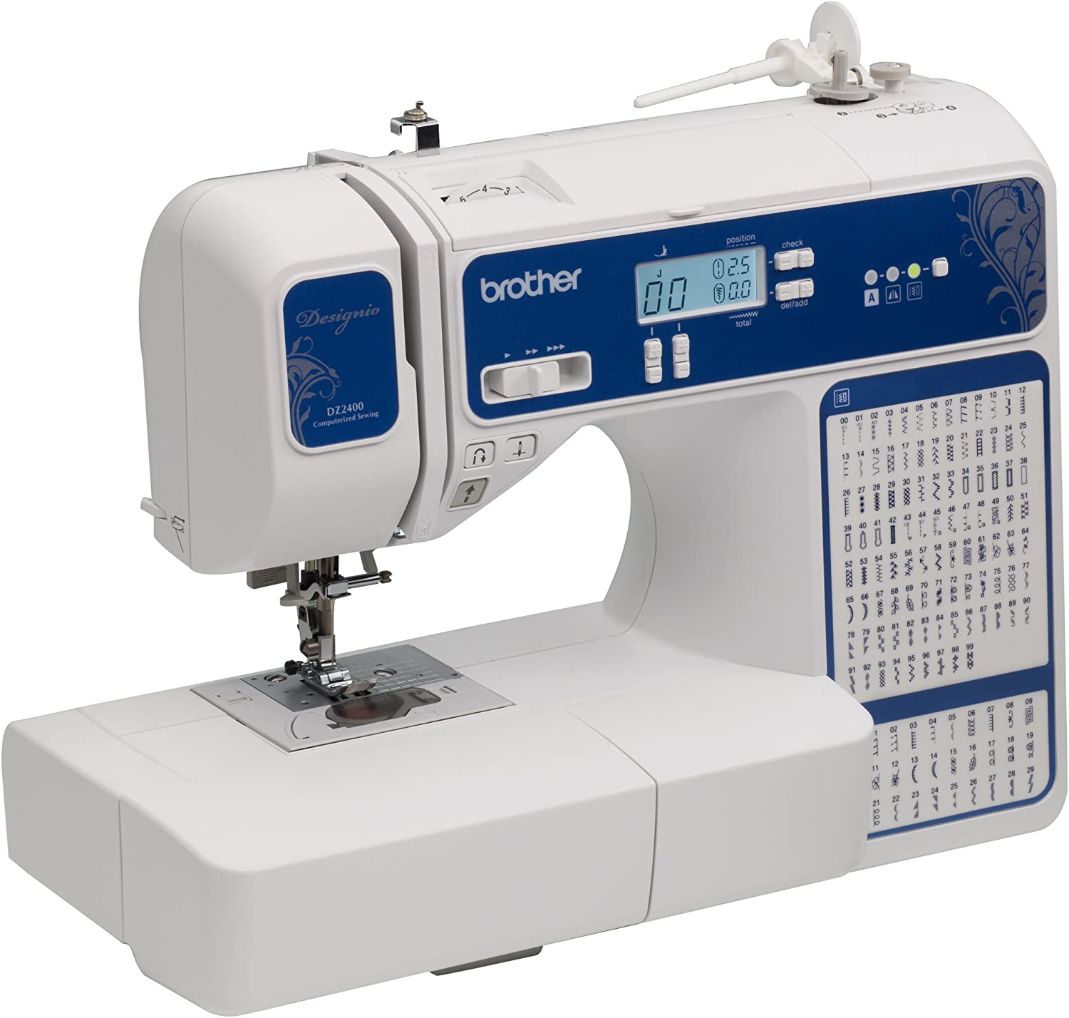 Brother Designio Series DZ2400 Computerized Sewing & Quilting ...