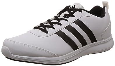 adidas uomini alcor syn m bianco e nero scarpe da corsa: amazon