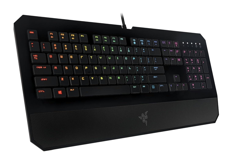fb9eebef899 Razer DeathStalker Chroma - keyboards (Wired, USB, Black, Mac OS X 10.8  Mountain Lion, Mac OS X 10.9 Mavericks, PC/server, Gaming) (German Layout  Keyboards)