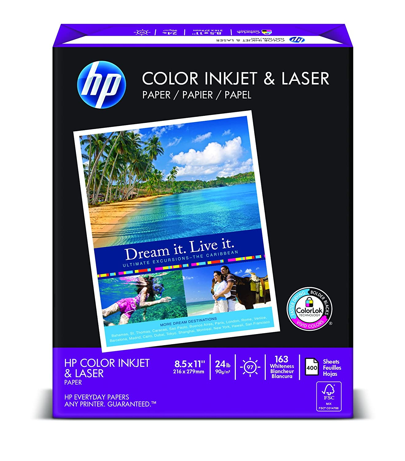 HP 400 Sheet Ream of Paper on.