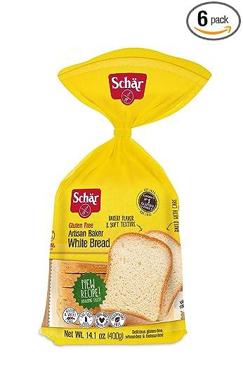 Amazon.com: Schar Gluten-Free Artisan Baker White Bread 14.1 ...